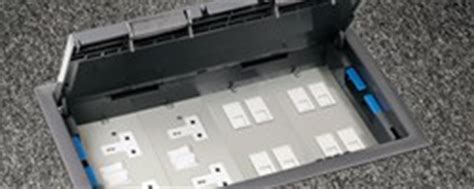 Legrand Floor Boxes Uk by Underfloor To Workstation Power Legrand Uk Ireland