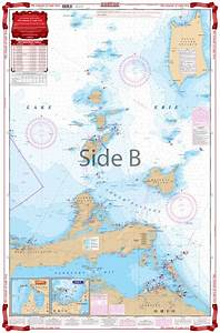Coverage Of Islands Of Lake Erie Navigation Chart Map 68