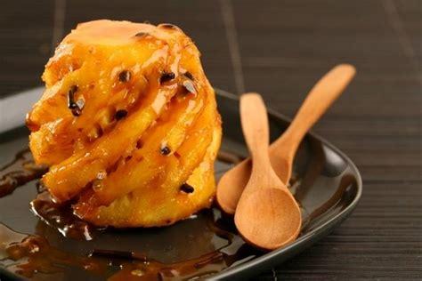 recette de ananas r 244 ti 224 la vanille et fruits de la facile et rapide
