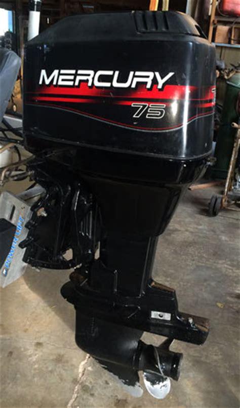 hp mercury outboard boat motor  sale