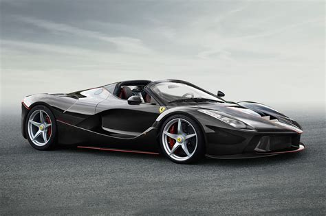 Ferrari Car : Laferrari Aperta At Paris 2016