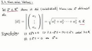 Norm Berechnen : mathematik nachhilfe videos vorlesungen bungen ii ~ Themetempest.com Abrechnung