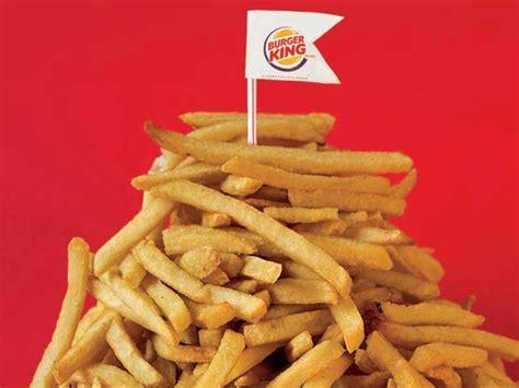 burger king fries value food fast