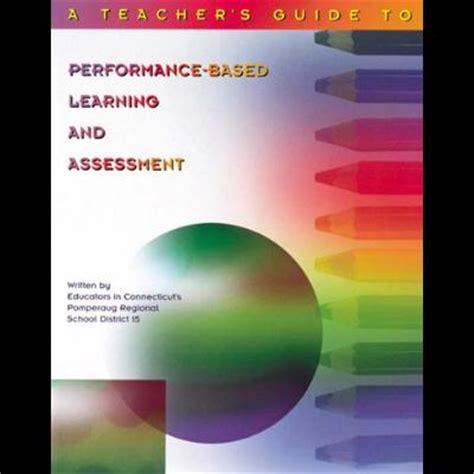 performance based learning  assessment