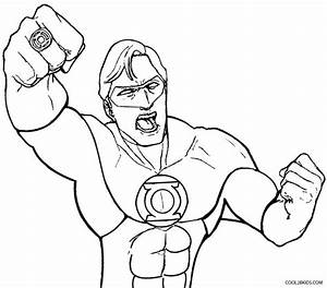 Printable Green Lantern Coloring Pages For Kids | Cool2bKids