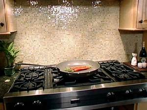 Glass Tile Backsplash - Transitional - kitchen