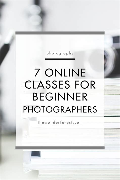photography classes  beginners  forest
