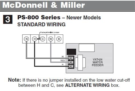 Wiring Diagram For Water by Hydrolevel Vxt 24 Is Not Feeding Water Steam Boiler