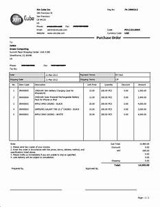 Invoice software purchase order template for Software for invoices and purchase orders