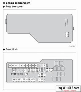 Toyota Camry Xv40 Fuse Box Diagrams  U0026 Schemes