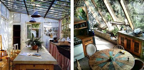 cuisine sur un pan de mur la fabrique à déco des plantes dans la cuisine