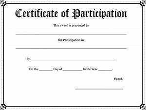 82 free printable certificate template examples in pdf With certificate of participation template pdf