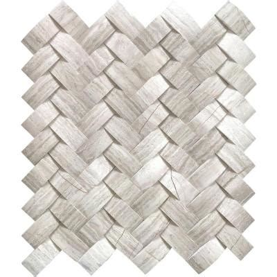 herringbone backsplash tile home depot ms international mystic cloud arched herringbone 12 in x