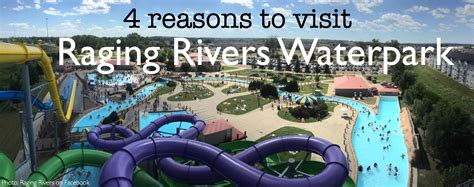 Top 4 Reasons To Visit Raging Rivers Waterpark + Giveaway!  Bison Booties