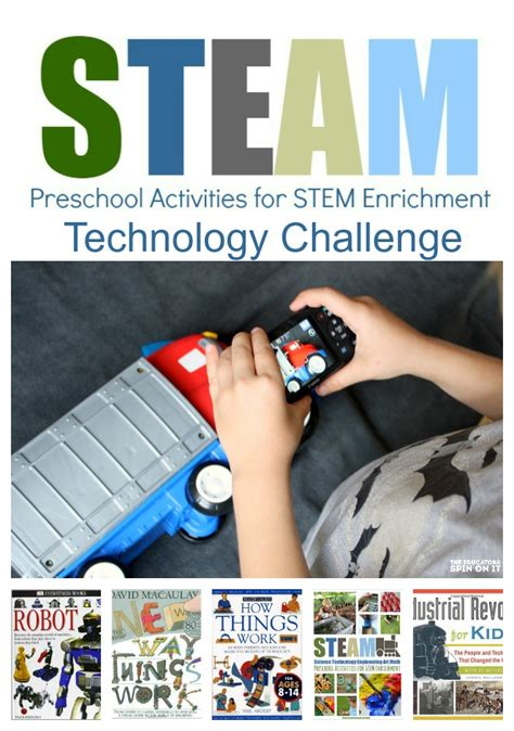 steam preschool activities for stem enrichment e book and 122 | Technology2BChallenge 1