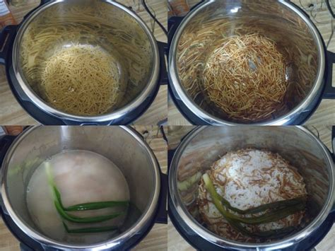 fideos arroz rice noodles cooker pressure