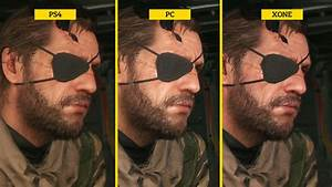 Metal Gear Solid 5 The Phantom Pain Graphics Comparison