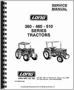 Long 460 Tractor Service Manual