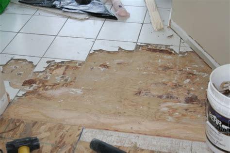 subfloor for tile removing porcelain tile on stapled and glued subfloor