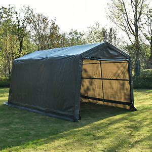portable shade sheds storage tent ebay