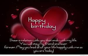 Happy Birthday ... Beautiful Love Birthday Quotes