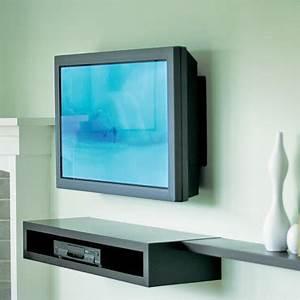 Fixer Une Télé Au Mur : 5 id es d co pour placer une t l grand cran dans un ~ Premium-room.com Idées de Décoration
