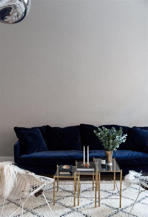 Decorating Ideas For Living Room With Blue Sofa by 20 Best Living Room With Blue Sofas Sofa Ideas