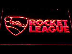 Rocket League LED Neon Sign