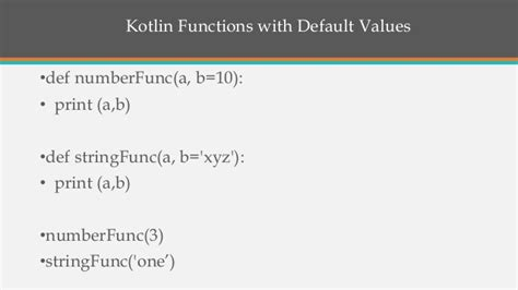 Introduction Kotlin
