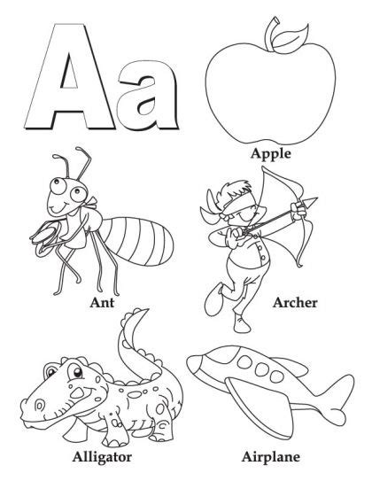 preschool activity books free download my a to z coloring book links to all 26 letters on this 171