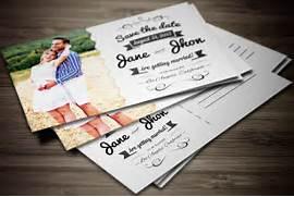Elegant Wedding Invitation Postcard Invitation Templates Printable Vintage Postcard Invitations Postcard Wedding Invitations Template Best Template Thank You Card Printable Templates New Calendar Template