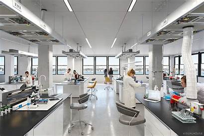 Lab Science Chemistry Labs Building Chemicals Web