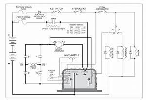 Control Of A D C  Motor Reversing Contactor