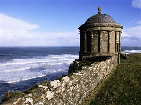 mussenden temple  downhill estate photographic print