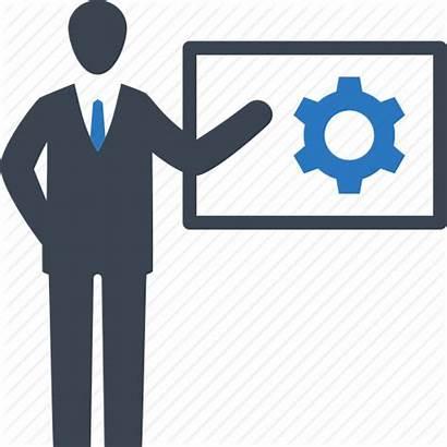 Training Icon Icons Seo Data Optimization Presentation