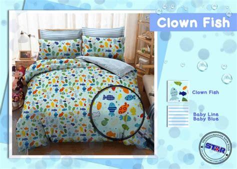 sprei clown fish sprei bintang kecil www
