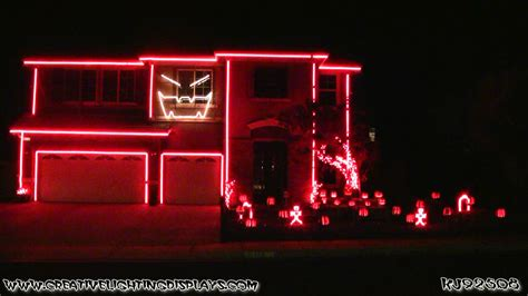 halloween light show  gangnam style youtube