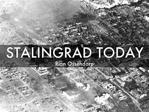 Stalingrad By Rian Ossendorp