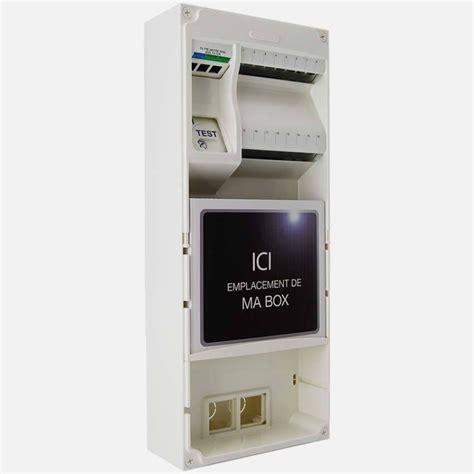 Coffret De Communication Coffret De Communication Multibox Q241 Michaud Grade 3 8 Rj45 Cat6