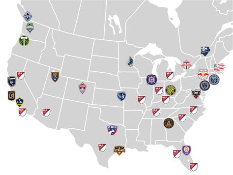 Here is what a map of MLS would look like if all expansion ...