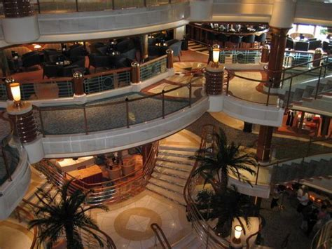 Ship Mall by Shopping Mall Or Cruise Ship Photo