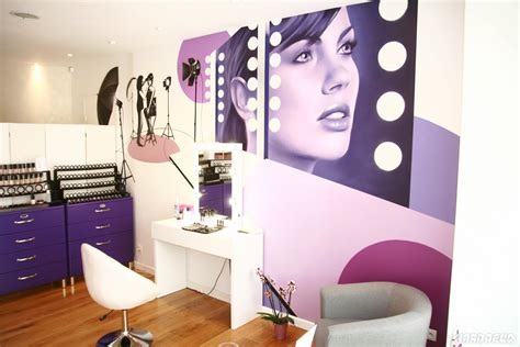 deco institut de beaute fresque d 233 corative pour un salon de beaut 233