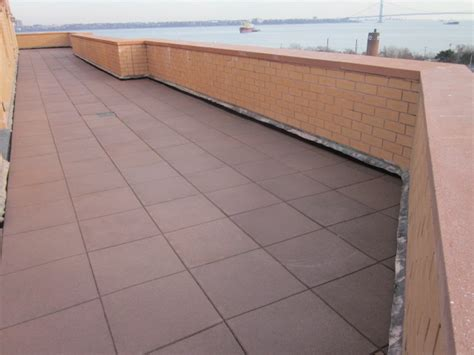 Verrazano Tile Staten Island Ny by Unity Rooftops Rubber Pavers Rooftop Accessories