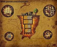 Wizard Tower Dnd Map