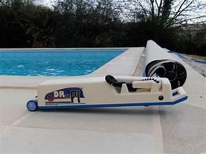 Bache À Barre Piscine : enrouleur motoris pour b che barre de piscine droopi ~ Melissatoandfro.com Idées de Décoration
