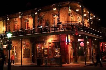 Orleans Louisiana Night French Quarter Halloween Street