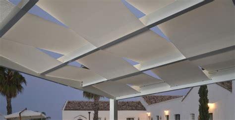 tendoni per terrazzi awesome coperture per esterni frangisole tettoie per