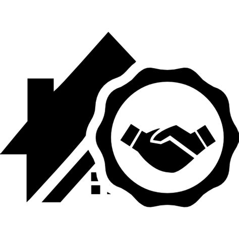 Free Icon | Real estate deal symbol