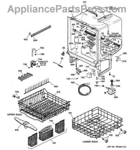 Wdx Piston Nut Assembly Appliancepartspros