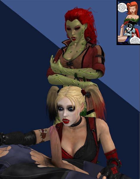 rule 34 3d batman batman series dc female harley quinn human male poison ivy straight tagme